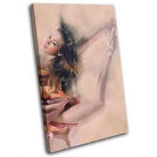 Ballerina Digi-Painting Abstract - 13-6055(00B)-SG32-PO